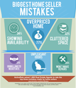 Biggest Home Seller Mistakes Infographic