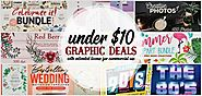 Value Graphic Deals under $10 – Freebies+Deals for Graphic Designers and Digital Artists