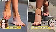 15 Hollywood Celebrities With Bad Pedicures. No - 3 will sock you