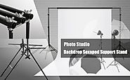LimoStudio 10 x 8ft Photography Reinforced Backdrop Support System with Carry Case, 6 Legs Support Stand...