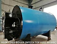 Husk Fired Boiler | Internal Furnace Top Feeding Boilers Types & Advantages | Thermodyne
