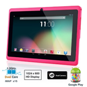 Dragon Touch® 7'' Pink Dual Core Y88 Google Android 4.1 Tablet PC, Dual Camera, HD 1024x600, 4GB, Google Play Pre-loa...