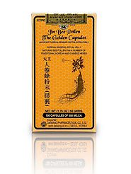 Natural Bee Pollen Capsules - The Ginseng House – The Golden Tonic® Ginseng House