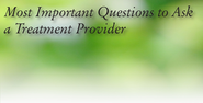 Most Important Questions to Ask an Addiction Treatment Centre - Bellwood Health Services