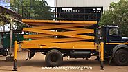 Truck Mounted Scissor Lift - Quality Truck Mounted Scissor Lift supplier from Coimbatore.