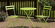 Outdoor Patio Bistro Sets: Folding Outdoor Patio Bistro Sets - Reviews & Ratings