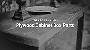 Plywood Cabinet Box Parts