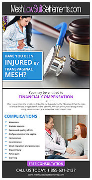 Are you eligible for a lawsuit against defective mesh?