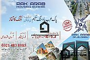 Possession Plots in Pak Arab Housing Society Lahore | Pakistan Property Real Estate- Sell Buy and Rent Homes Houses L...