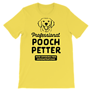 Professional Pooch Petter (Black) – WLKR Threads & Design