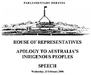 Apology to Australia's Indigenous peoples | australia.gov.au
