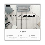 Teletype by DinevThemes.com