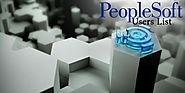 PeopleSoft Users Email List: PeopleSoft Users List | List of Companies Using PeopleSoft Applications