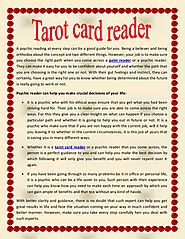 Tarot card reader