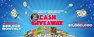 Georgia Lottery 25th Anniversary Cash Giveaway (Galottery.com/25th)