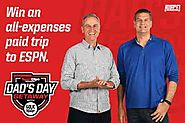 Sport Clips Dad's Day Getaway Sweepstakes (SportClips.com/ESPN)