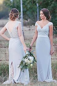 Long Bridesmaid Dresses | Wedding Party Dresses – Promnova