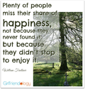 Picture your Life with More Happiness (& Less PICTURES!) | Elements of Happiness | The New Girlfriendology | Be a Bet...