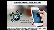 Get the Mobile App Design Service in Canada & USA