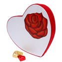 True Love Heart Box - 1.25lb, 20oz of Patchi Dark and Milk Chocolate Variety and Hearts