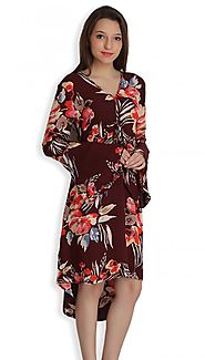 Hoi Polloi Mini Dresses for women, Printed Dresses, Floral clothing collection-Shophoipolloi.com