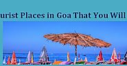 Top 15 Tourist Places in Goa With Maps | Jatt Fatehpur Blog
