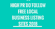 Top 50 High PR Do Follow Free Local Business Listing Sites 2018