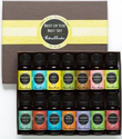 Amazon.com: Essential Oil- Beginners Best of the Best Aromatherapy Gift Set- (100% Pure Therapeutic Grade Essential O...
