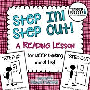 Leadership/Choices/Critical Thinking: Step In! Step Out! {A Reading Lesson for DEEP Thinking}