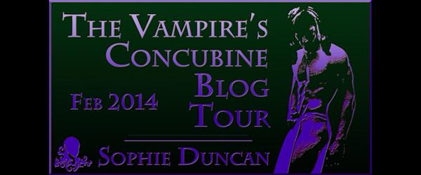 Headline for The Vampire's Concubine Blog Tour