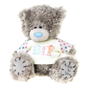 "Me to You, Tatty Teddy, Grey Teddy Bear Wearing A 'BFF' T-shirt, Sits 6"" Tall"