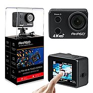 AKASO Brave 5 4K Touchscreen Waterproof WIFI Action Camera 4K Ultra HD 20MP 10M Underwater Waterproof Camera Without ...