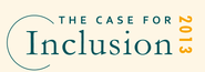 THE CASE FOR INCLUSION 2013 | Ranking Map