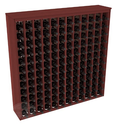 144 Bottle Deluxe Wine Rack in Premium Redwood with Stain & Finish Options