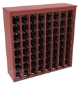 64 Bottle Deluxe Wine Rack in Ponderosa Pine with Stain & Finish Options