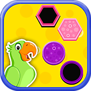 Smart Kids - Match Shapes | Color Matching Block Game
