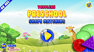Toddler Preschool Shape Matching - Smart Kids Game