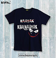 T-Shirts for Men | Buy Men's T-Shirts Online in India – BeYOUng