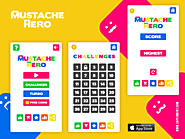 mustache hero - Colorful game