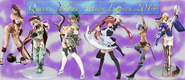 Queen's Blade Action Figures 2014