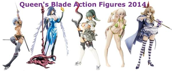 Headline for Queen's Blade Action Figures 2014