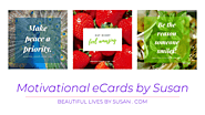 Motivational Quotes eCard • Styled Graphics by Susan