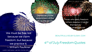 4th of July Freedom Quotes | Beautiful Lives by Susan