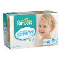 Pampers Sensitive Size 4 Diapers - BEST DEALS, bulk, All Counts, FAST and FREE Shipping