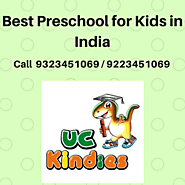 Best Preschool Franchise of UC Kindies in India