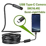 Fantronics Endoscope Type C Borescope Inspection Camera for Android