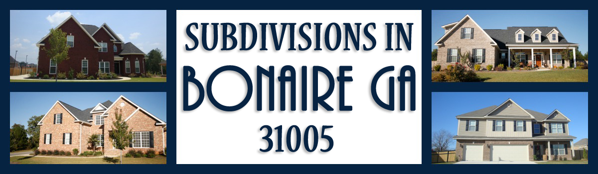 Headline for Bonaire GA Subdivisions