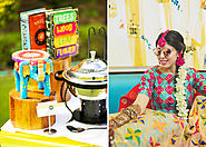 A Theme Based Mehendi Ceremony With Quirky Food Stations By Fork 'n' Spoon
