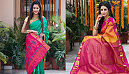 9 Types Of Stunning South Indian Sarees Every Indian Bride Must Have In Her Trousseau
