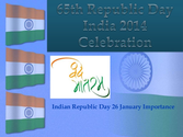 65th Republic Day India 2014 Celebration, Republic Day 2014